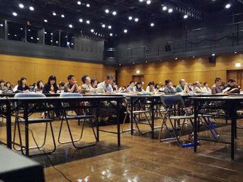 市民公開講座(福岡)の様子